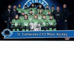 St. Catharines Minor Hockey Team Photo