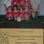 Welland Soccer Team Photo